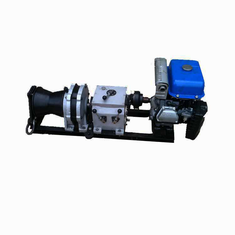 汽油机5吨轴传动绞磨机